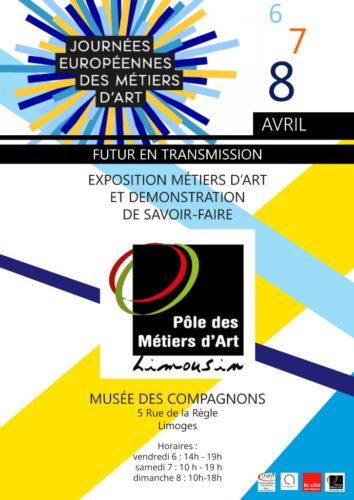 Journées Européennes des Métiers d'Art Limoges