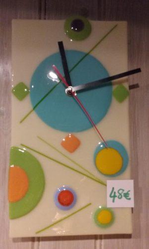 Horloge géométrique