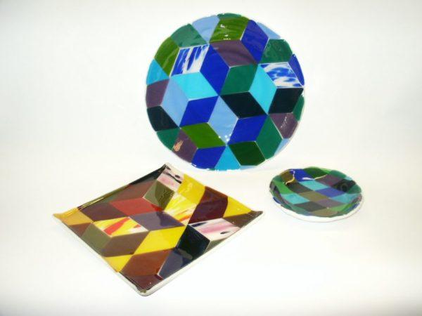plats géométriques